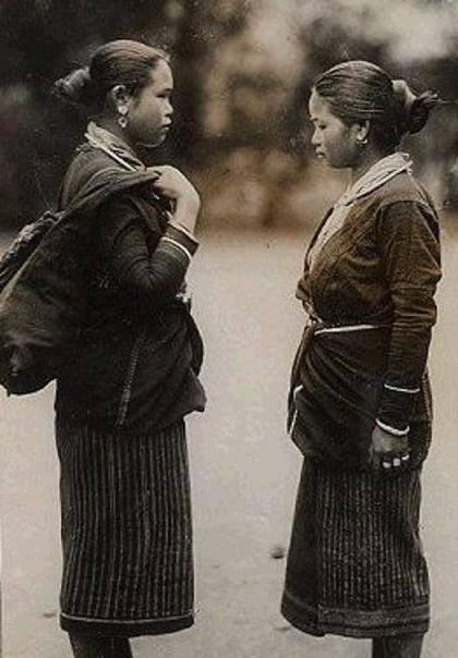 การแต่งกายของชาวพวนในอดีต
